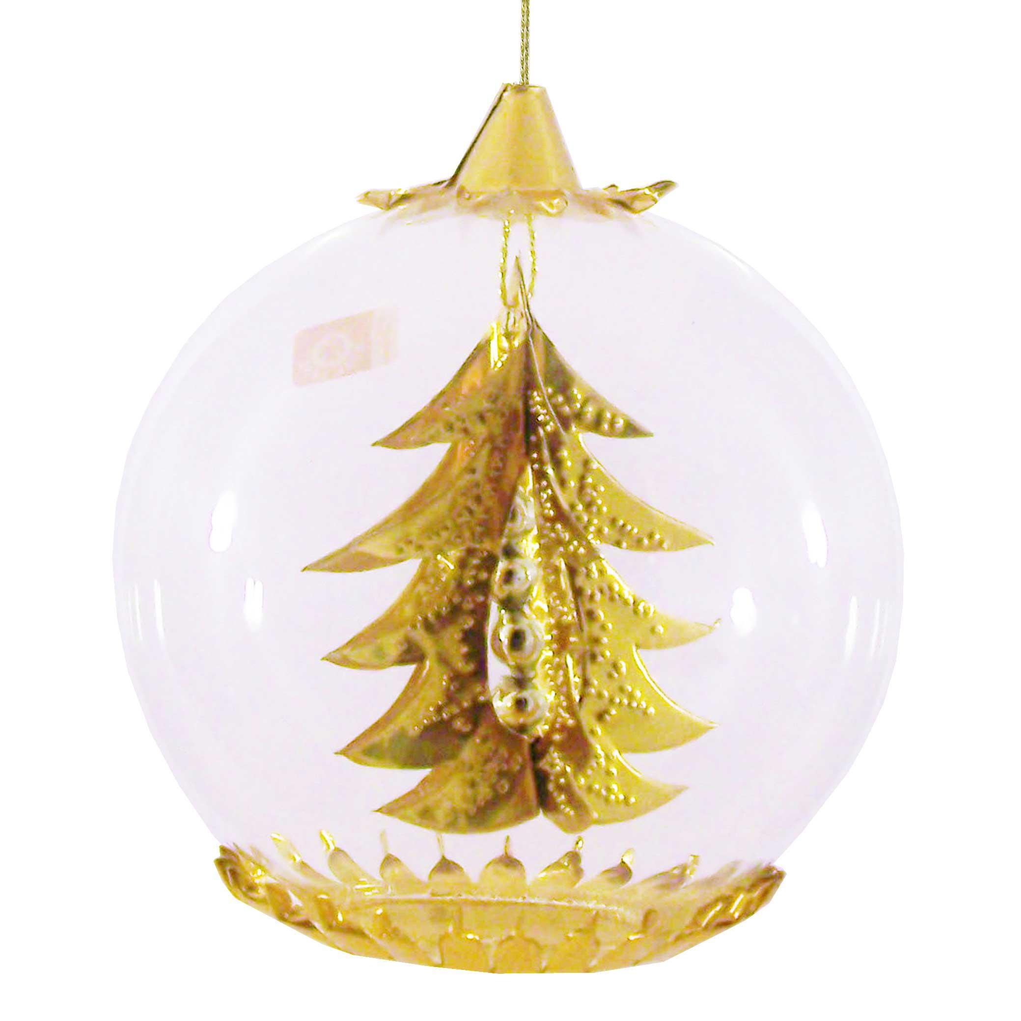 Kugeln 8cm gold seite2 - Tannenbaum englisch ...